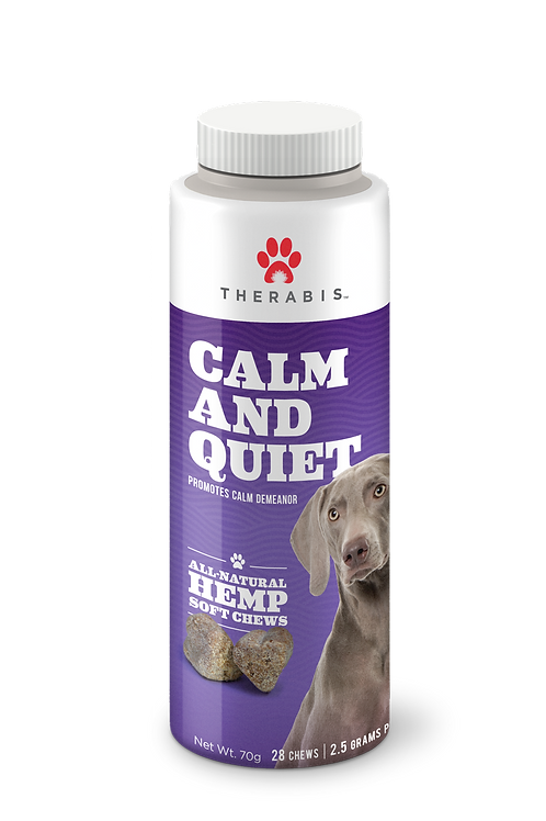 Therabis Calm & Quiet Treat Supplements – One Size Fits All