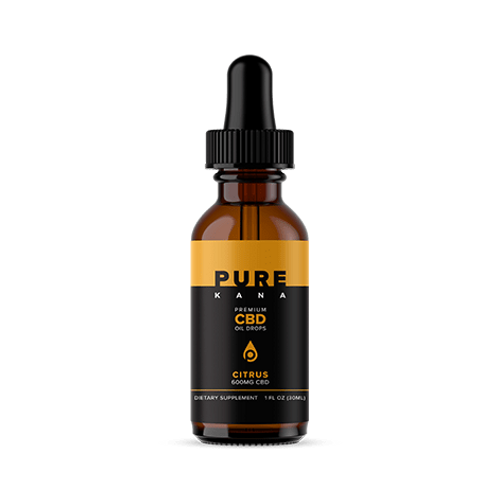 Pure Kana Tincture – 600mg - Citrus Flavored