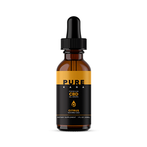 Pure Kana Tincture – 1000mg - Citrus Flavored