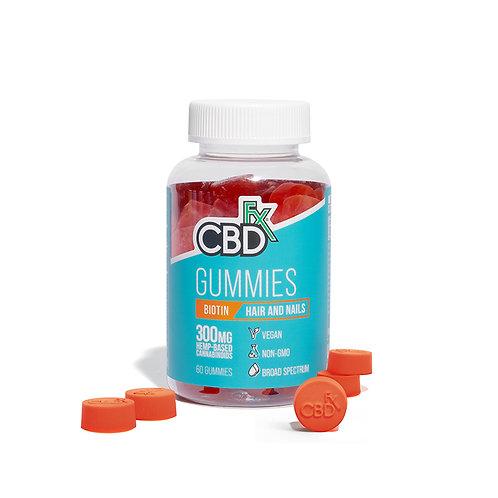 CBDfx Hemp Gummy Bears – 300mg -Biotin