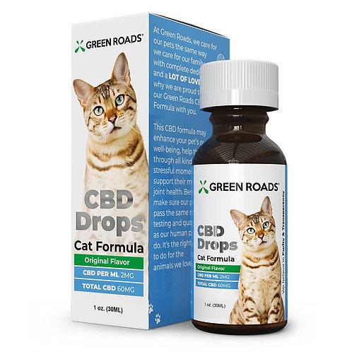 GREEN ROADS WORLD – Pet Drops – Cat – 60mg
