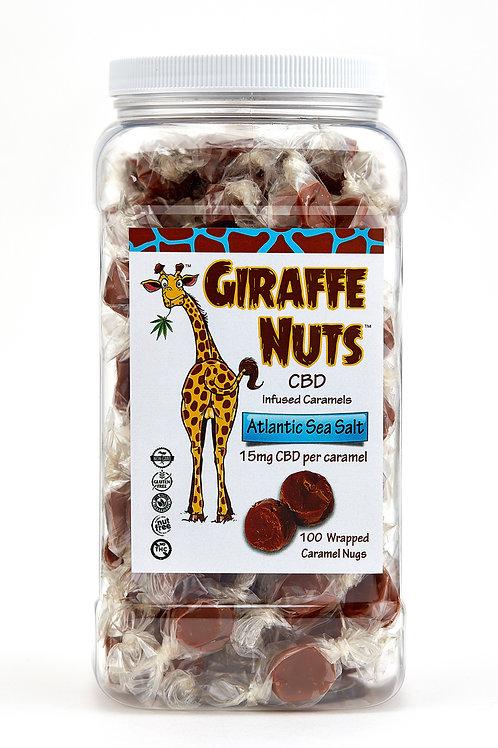 Giraffe Nuts – Bulk Bins - Atlantic Sea Salt