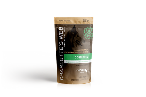 CHARLOTTE'S WEB Premium CBD Hemp Extract Pet Chews-30ct - Senior