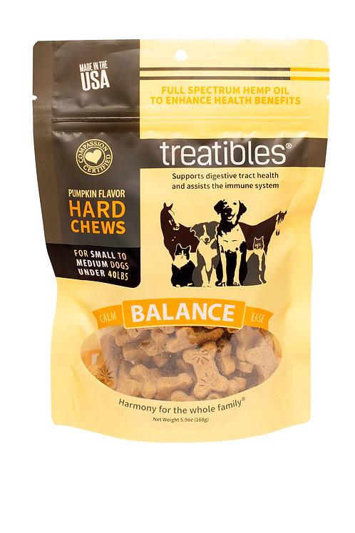 Treatibles – Hard Chews – Small Dog – Pumpkin Flavor