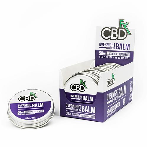 CBDfx Mini Balm – 50mg - Overnight Recovery