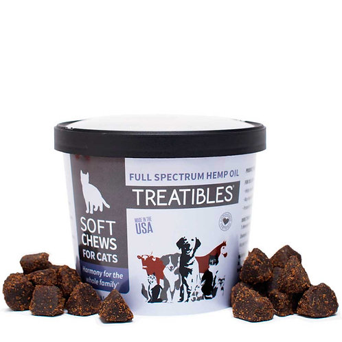 Treatibles – Soft Chews for Cats - Unflavored