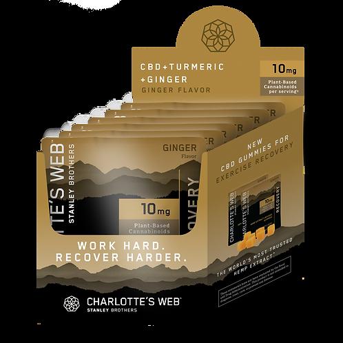 CHARLOTTE'S WEB Premium CBD Hemp Extract Gummies 10mg 6pk - Recovery