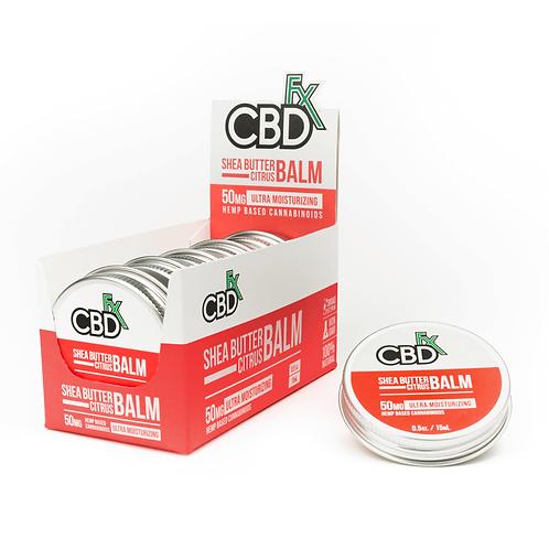 CBDfx Mini Balm – 50mg - Shea Butter Citrus