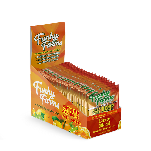 Funky Farms Drink Packet Citrus 25mg – 24pk