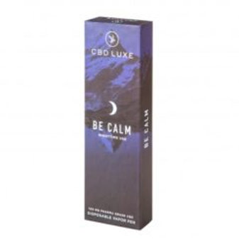 CBDLuxe - 200mg Organic Disposable Vaporizers – Be Calm – Nighttime Use