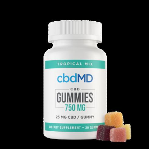 cbdMD Gummies - 750mg