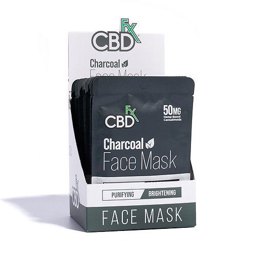 CBDfx Face Mask – 50mg – 20pk - Charcoal