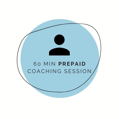 Prepaid Coaching Session (60 min)