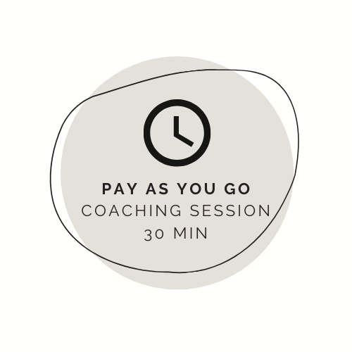 Coaching By The Half Hour (30 min)