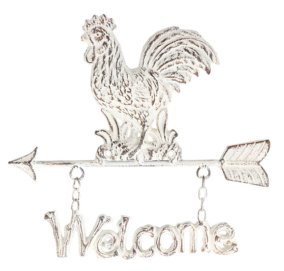 Chicken Welcome Sign