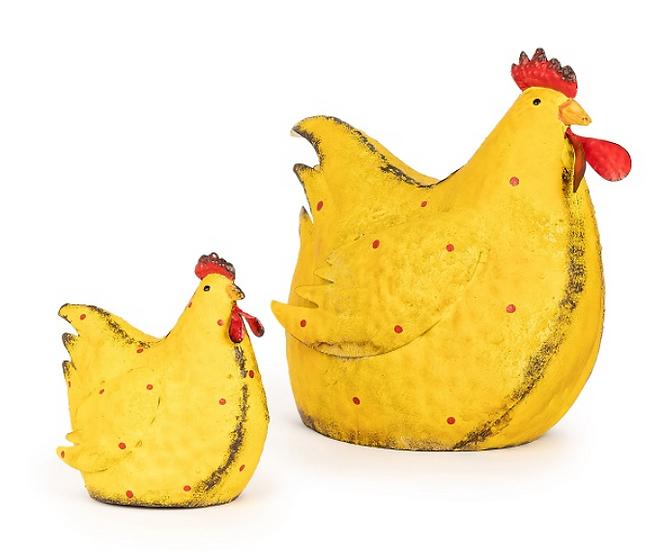 Yellow Metal Chicken