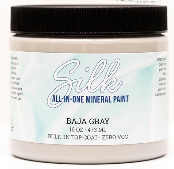 'Baja Gray' Silk Mineral Paint 16oz