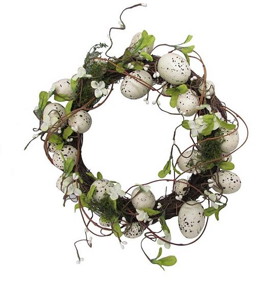 Egg and Vine Wreath