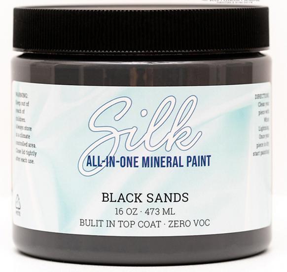 'Black Sands' Silk Mineral Paint 16oz