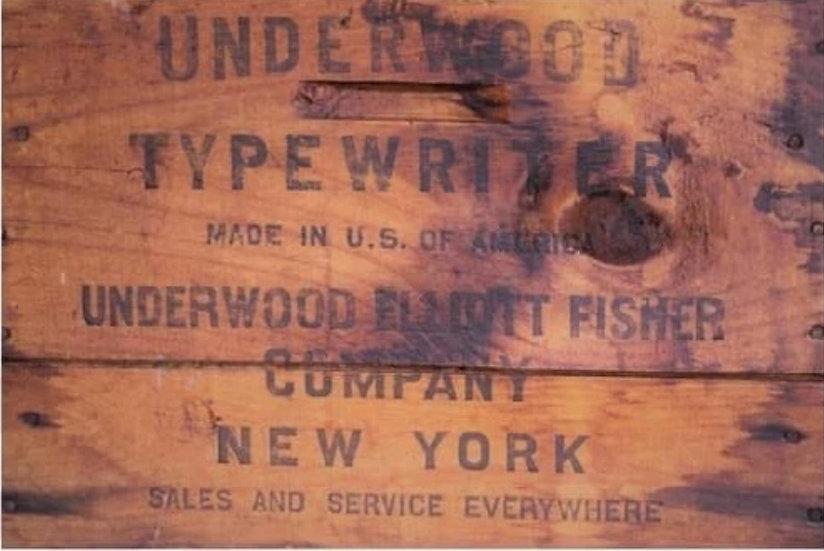 Roycycled Treasures Underwood Crate