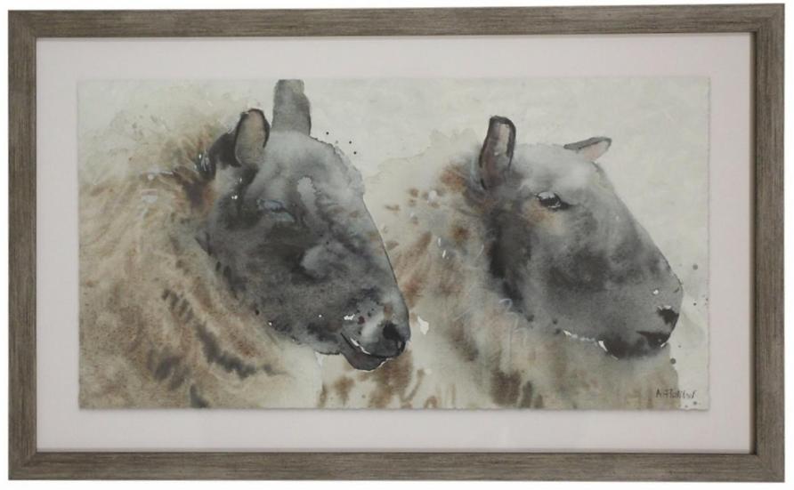 Sheep Friends Artwork