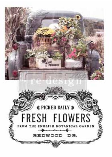 Redesign Decor Transfers-Fresh Flowers