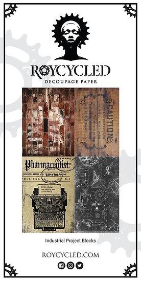 Roycycled Treasures Industrial Project Blocks