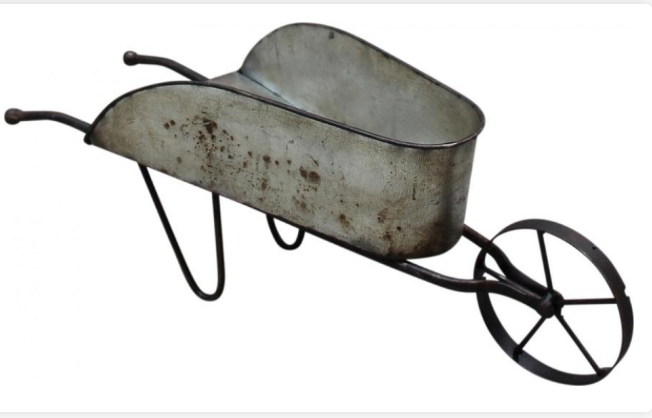 Small Galvanised Wheelbarrow