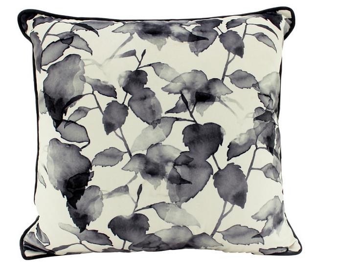 Cindy Leaves Velvet Cushion