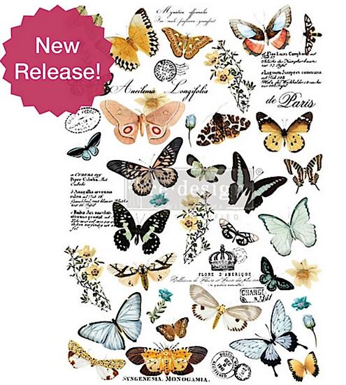 Re-Design Decor Transfer - Butterfly Dance