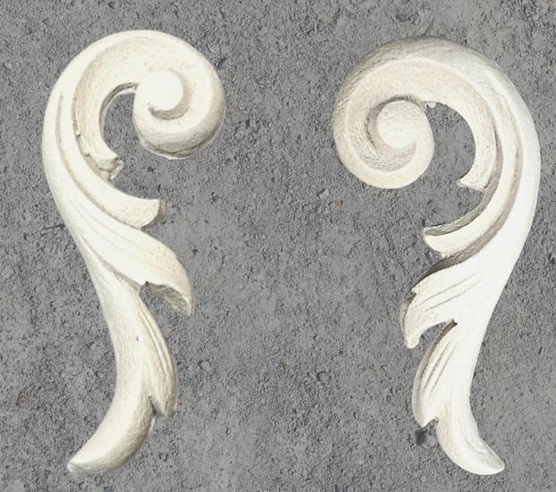 Ornate Scroll Pair