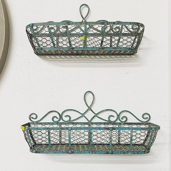 French Provincial Wall Planters