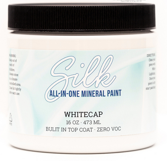'Whitecap' Silk Mineral Paint 16oz