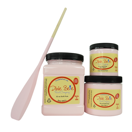 'Soft Pink' Chalk Mineral Paint