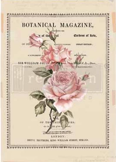 Redesign Decor Transfers-Beautiful Botanist