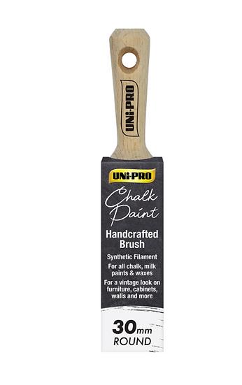 Uni Pro Chalk Paint Brush 30mm Round