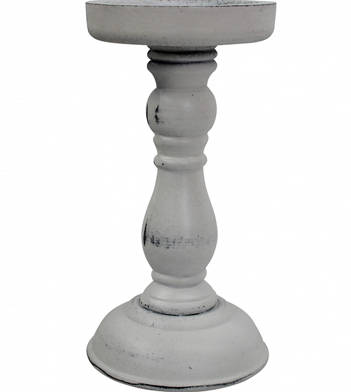 Finch White Candle Stick