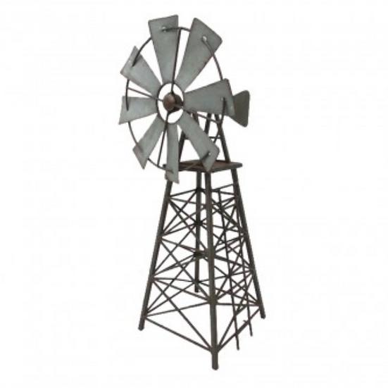Galvanised Windmill