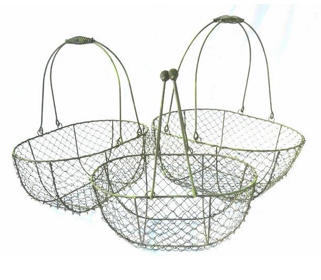 Brown Wire Basket