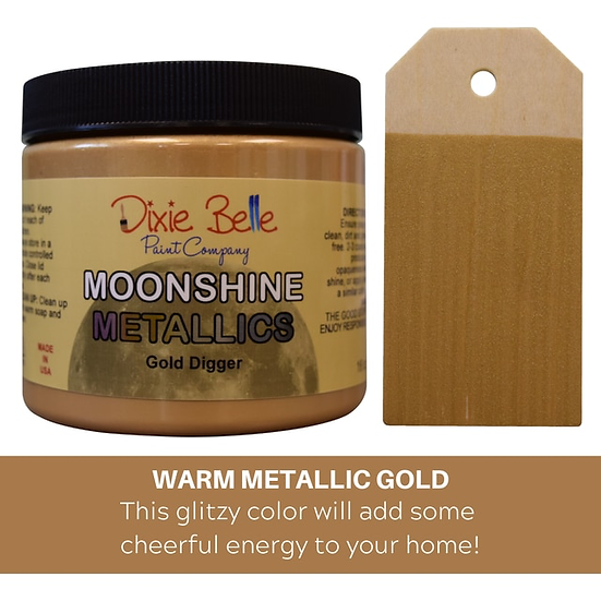 Gold Digger Moonshine Metallic Paint