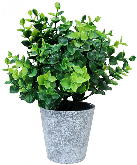 Artificial Green Plant in Pot