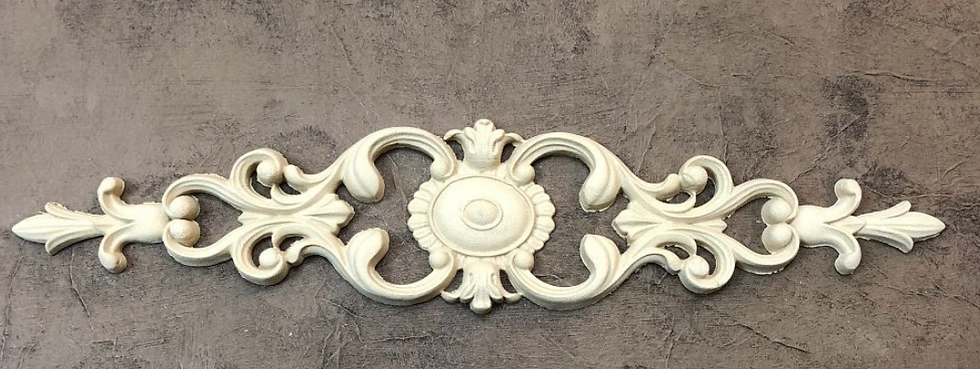 Pediment with Scrolls