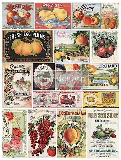 Re-Design Decor Transfer - Vintage Seed