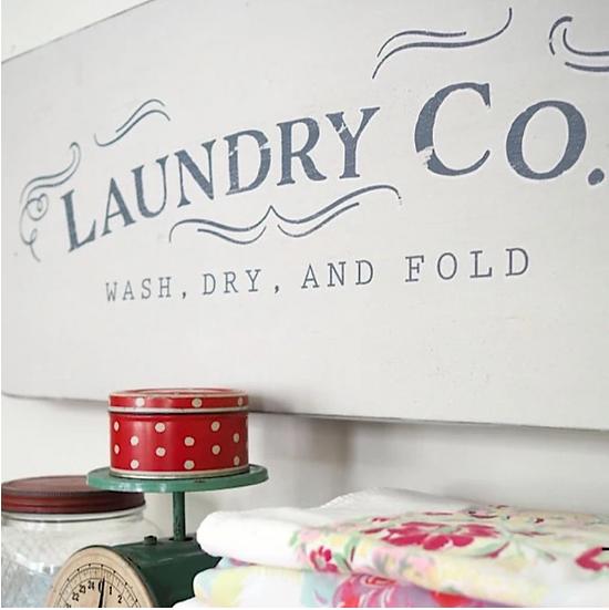 Re-Design Decor Transfer -Laundry