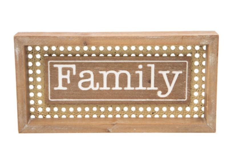 Mini Family Sign