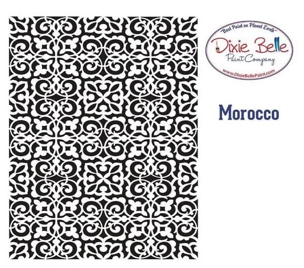 Dixie Belle- 'Morocco' Stencil