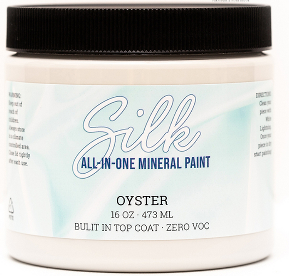 'Oyster' Silk Mineral Paint 16oz