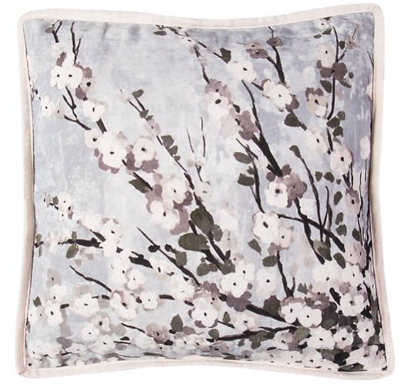 White Flower Cushions