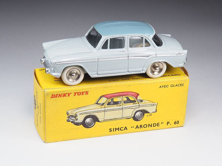 DINKY TOYS FRANCE - 544 - SIMCA ARONDE P60 - JANTES CONCAVES