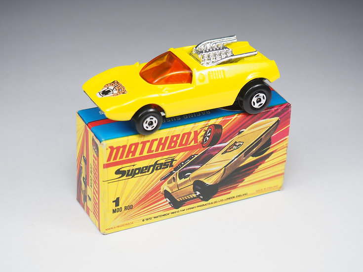 MATCHBOX SUPERFAST - 1 - MOD ROD